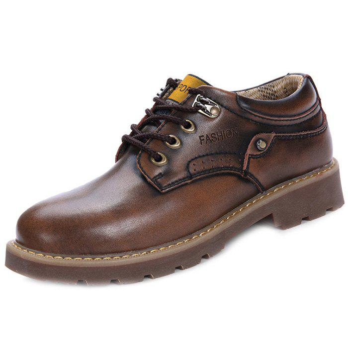 Fancy Leather Shoes Trend Casual Male Shoes