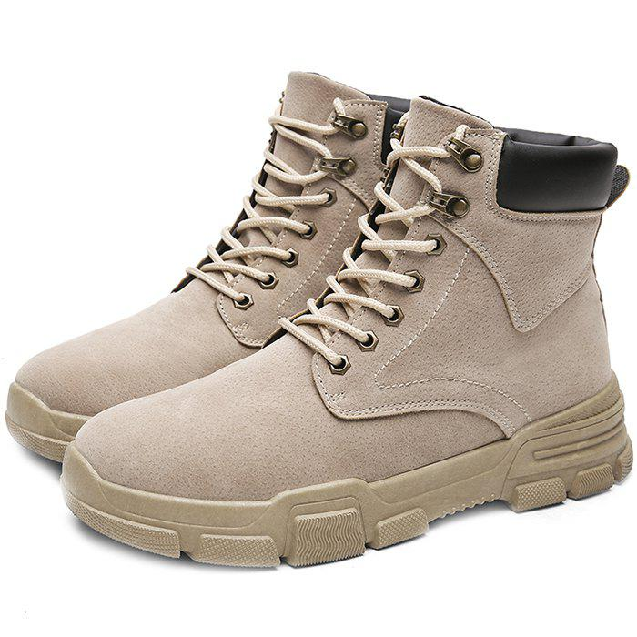 Sale Winter Men's Shoes High Boots Tooling Boots
