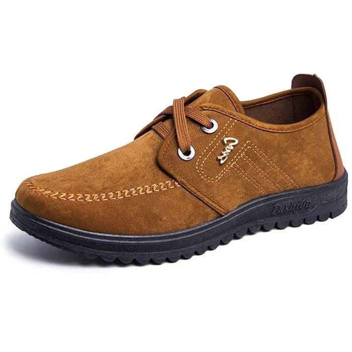 New Fashion Men Casual Business Leather Shoes