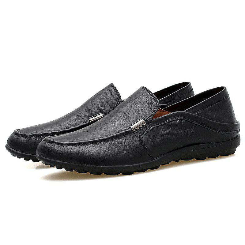 Chic Men Slip-on Flat Shoes Comfortable Soft Durable