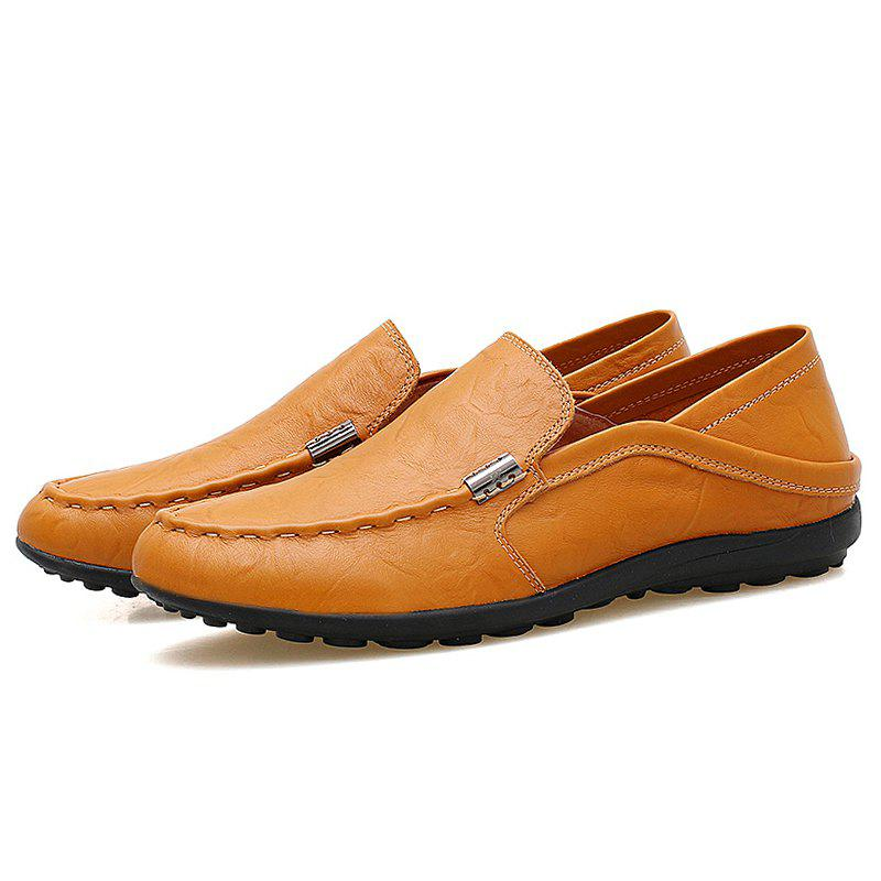 Outfit Men Slip-on Flat Shoes Comfortable Soft Durable