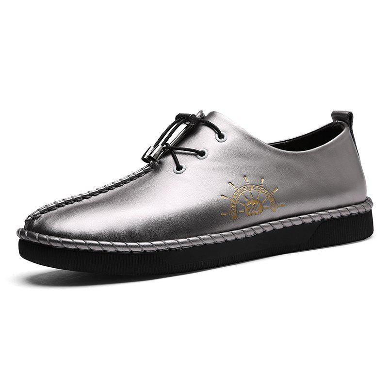 Affordable Men Lace-up Flat Shoes Comfortable Stylish Durable