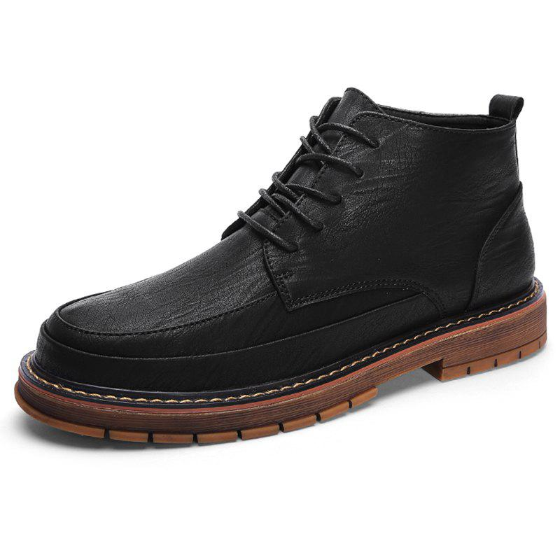 Fancy High-top Oxford Brock Shoes H912