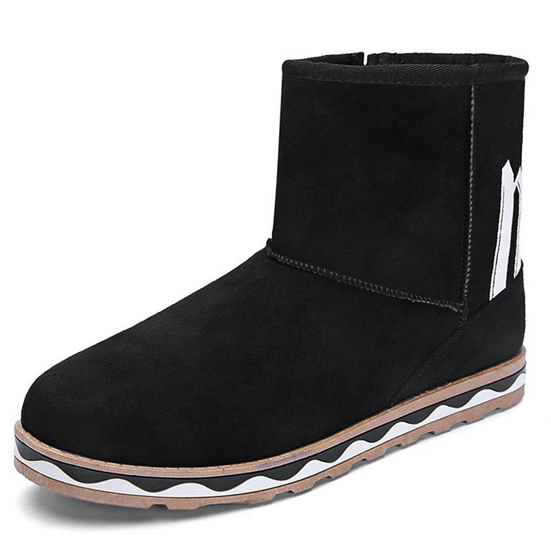 Shop Men Winter Snow Boots Cotton Boots
