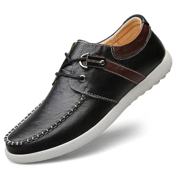 Cheap Men Lace-up Casual Shoes Comfortable Stylish Wearable