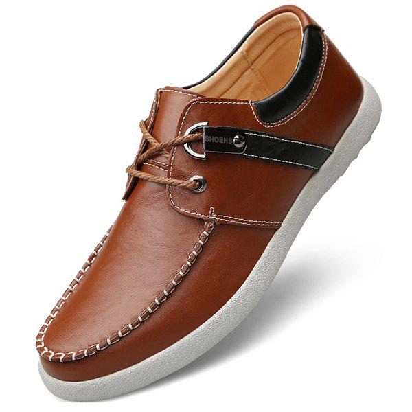 Trendy Men Lace-up Casual Shoes Comfortable Stylish Wearable