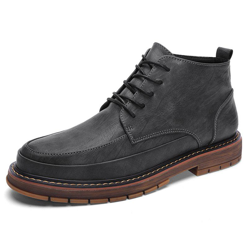 Hot High-top Oxford Brock Shoes H912