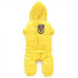 Four Feet Pet Clothing Winter Clothes for Dog -