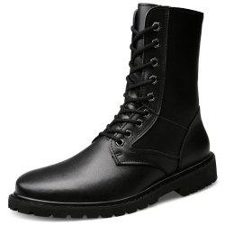 Men High-top Stylish Army Boots -