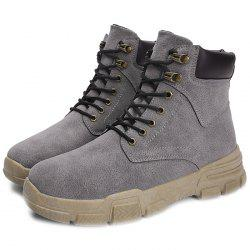 Winter Men's Shoes High Boots Tooling Boots -