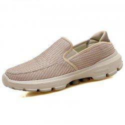 Mesh Breathable Men's Shoes Lazy Dad Shoes Casual Shoes -