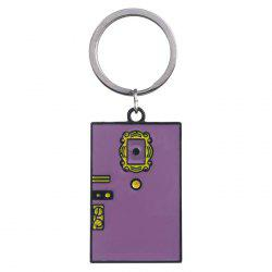 Dream Door Keychain Friends Classic Scene Keychain Tag -