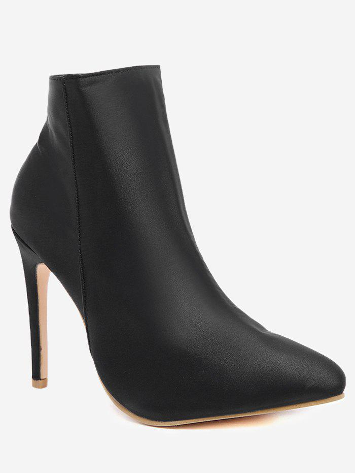 Hot Pointed Toe High Heel Ankle Boots