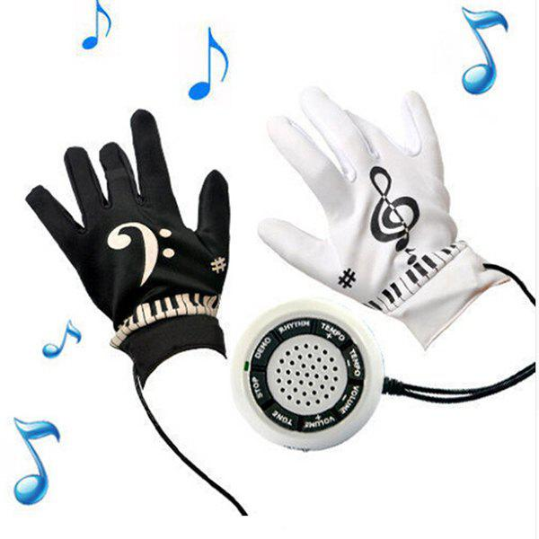 Shop Creative Magic Electronic Piano Gloves Music Instrument