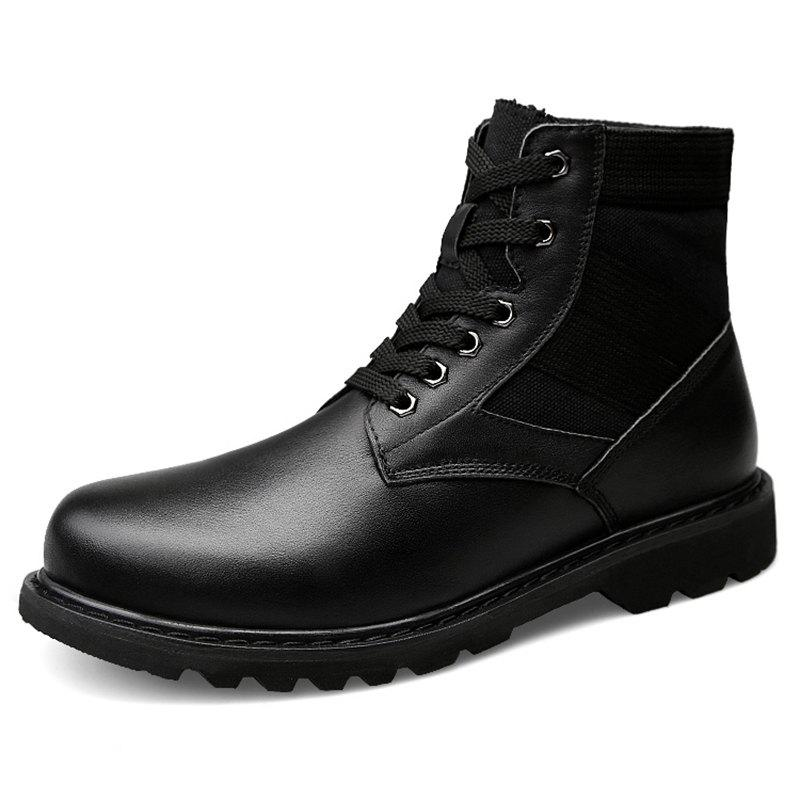 Affordable Plus Velvet Warm Military Boots