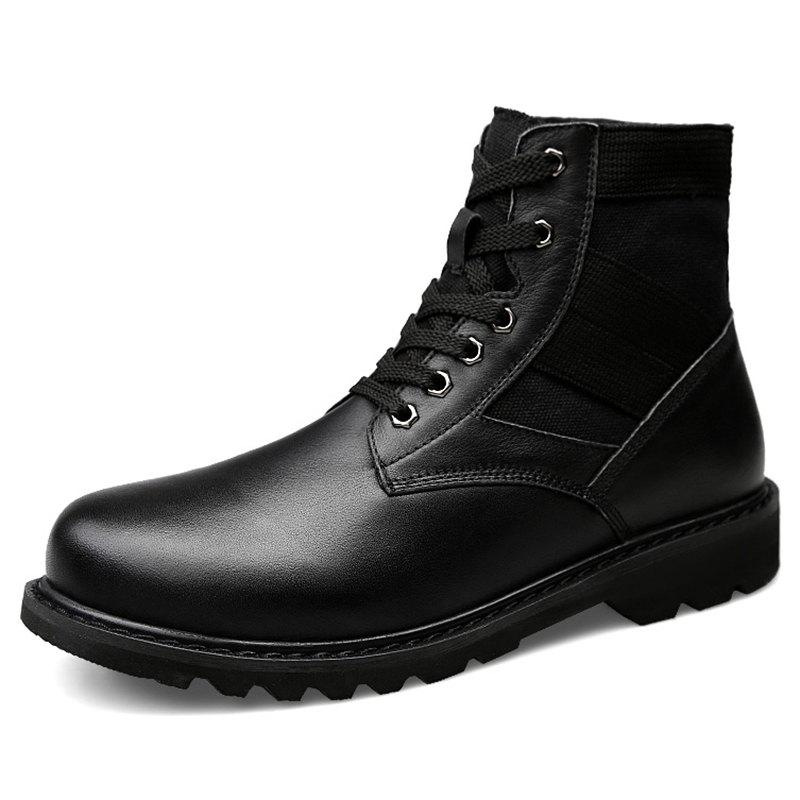 Fashion Simple High-top Army Boots