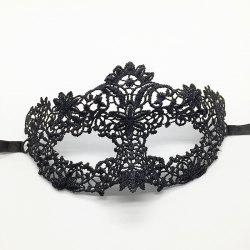 Black Lace Eye Mask Stereotypes Birthday Party Masquerade Christmas Supplies -