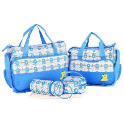 8816E Fashion Print  Five-Piece Set Mommy Use Mummy Bag Set -