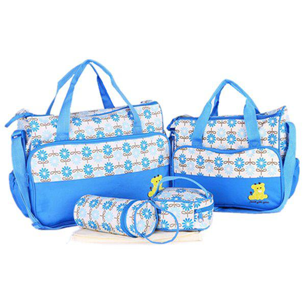 Outfit 8816E Fashion Print  Five-Piece Set Mommy Use Mummy Bag Set