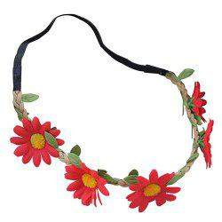 8 - O5M6 - 1 5 Daisy Flower Beach Wreath -