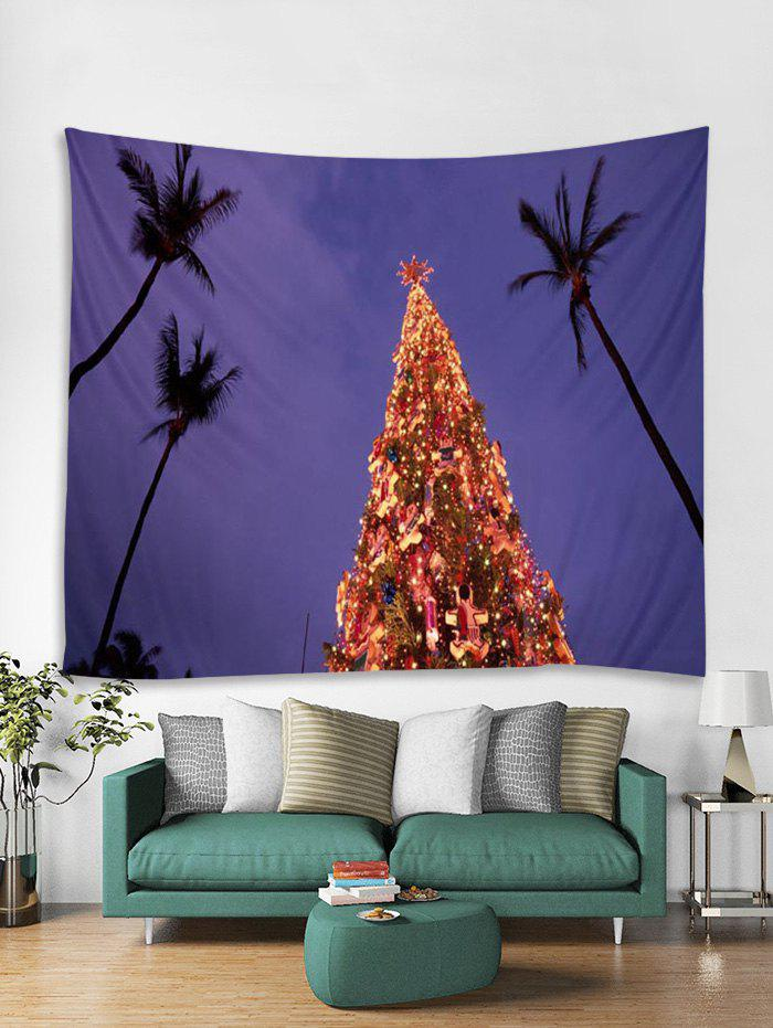 Store 3D Christmas Tree Pattern Tapestry Art Decoration
