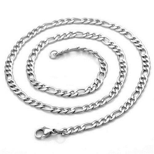 Fancy 3 - J0372 Fashion Stainless Steel Necklace 9mm