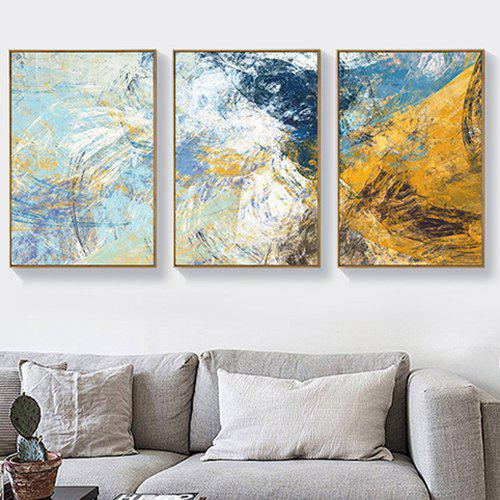 Modern Minimalist Abstract Decorative Painting Living Room Wall Sofa Background With Frame