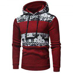 Men's  Fashion Casual Wild National Sweatshirt -