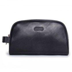 Contact'S MC1003 Crazy Horse Leather Multi-function Clutch Bag -