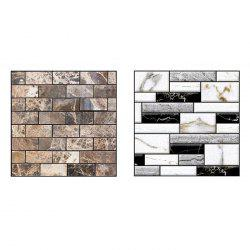 3D Stereo Tile Stickers Anti-collision Stickers PVC Wall Stickers -