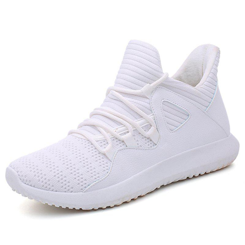 Discount Men Comfortable Sneakers Breathable Leisure Wearable