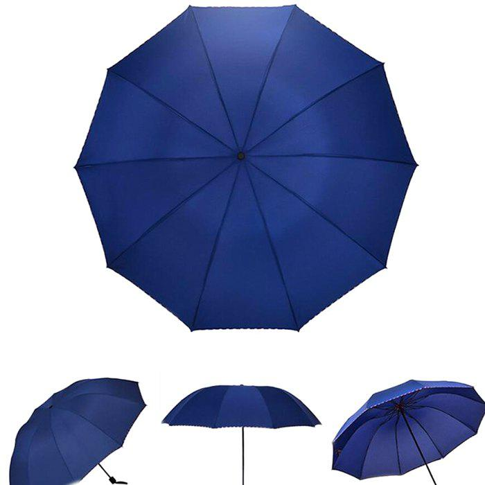 Outfits Three-fold Automatic Business Dual-use Sunscreen UV Protection Umbrella
