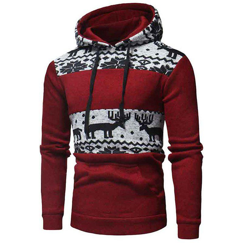 Fashion Men's  Fashion Casual Wild National Sweatshirt