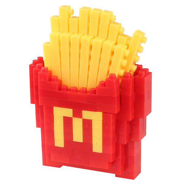 Fashion Fries Building Block Educational Toy