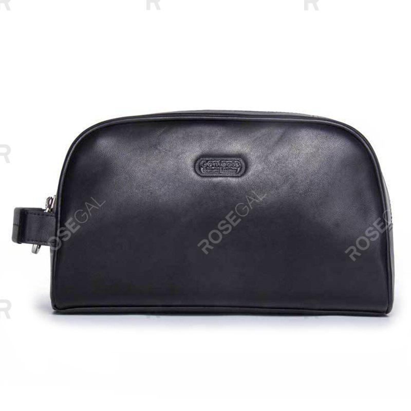Outfits Contact'S MC1003 Crazy Horse Leather Multi-function Clutch Bag
