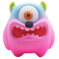 Slow Rebound Cartoon Big Mouth Monster PU Slow Rebound One-eyed Big Mouth Monste -
