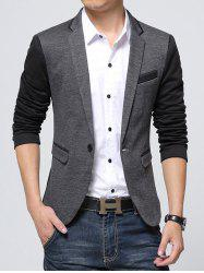 Men Coat Slim One Button Casual -
