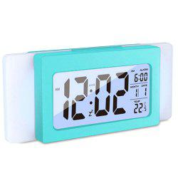 Temperature Mute Electronic Light Sensation Alarm Clock -