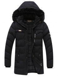 Middle-aged Men's Cotton Coat Winter Thickening Coat Men's Jacket Clothes -