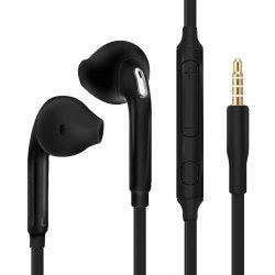 Gocomma G07 Half-in-ear Noodle Earphone with Wire Volume Control Mic 3.5mm Interface -