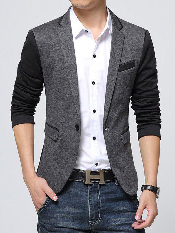 Outfits Men Coat Slim One Button Casual