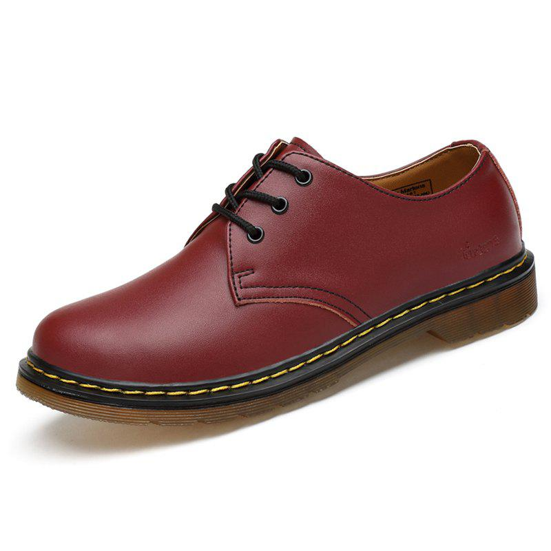 Outfit Men Comfortable Flat Shoes Leisure Lace-up Classic