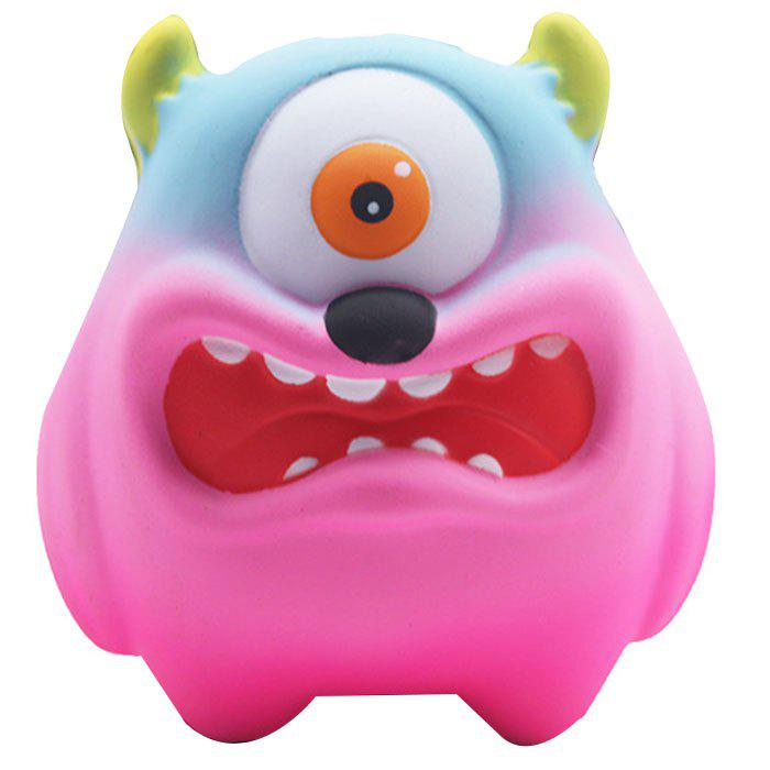 Trendy Slow Rebound Cartoon Big Mouth Monster PU Slow Rebound One-eyed Big Mouth Monste