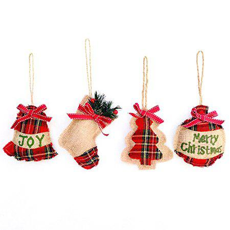 Beautiful Christmas Tree Pendant Hanging Ornaments