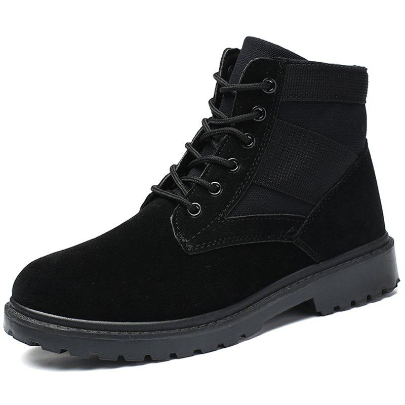 Chic Trendy Outdoor Splicing Anti-slip Boots for Men