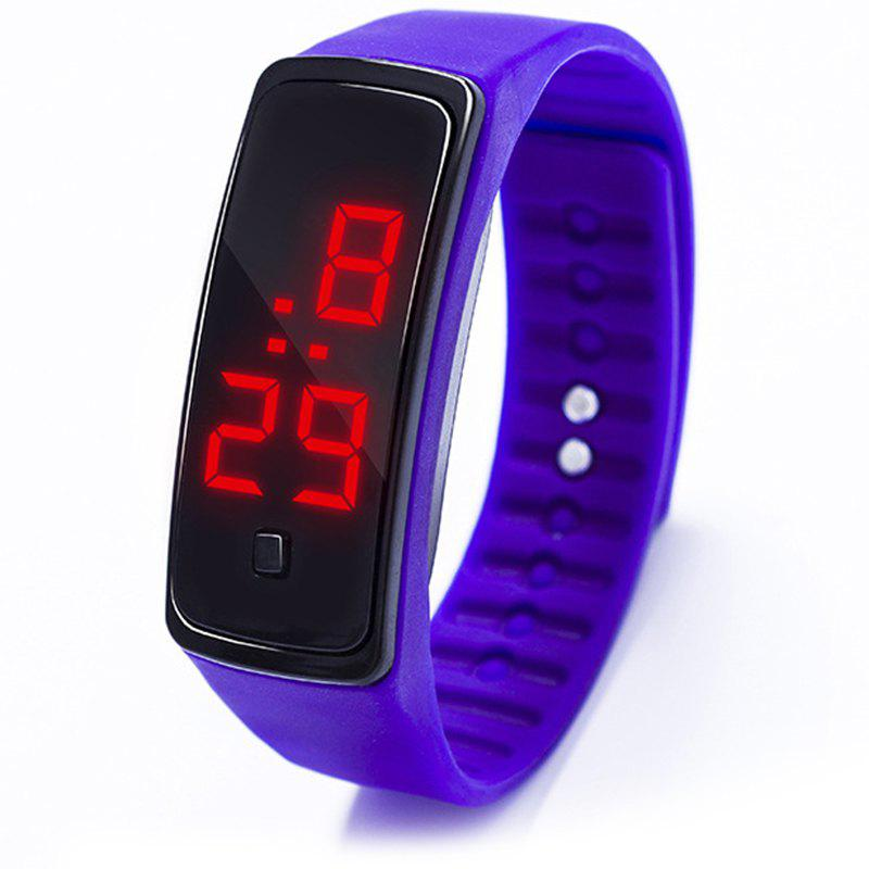 Latest LED Silicone Electronic Sports Watch