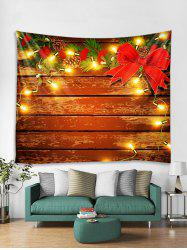 Christmas Wooden Light Wall Tapestry Art Decoration -