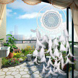 7-PL011 Lace Dream Catcher Decoration -