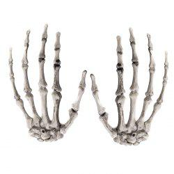 7-LHH2869 Halloween Party Horror Tidy Decoration Hand Claw Pair -