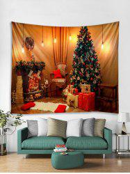 3D Christmas Tree Gift Tapestry Art Decoration -